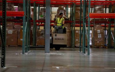 E-Commerce Soars & Warehouse Workers Suffer. Time for AI Forklift Safety.