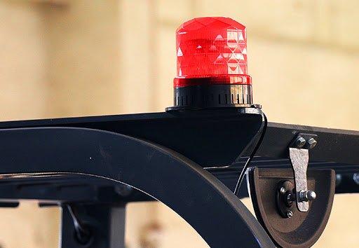 Forklift safety warning lights