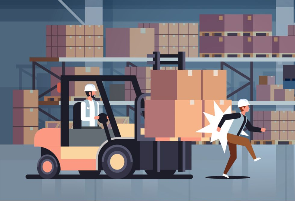 Forklift Impact Detection: Benefits of Recording Forklift Impacts