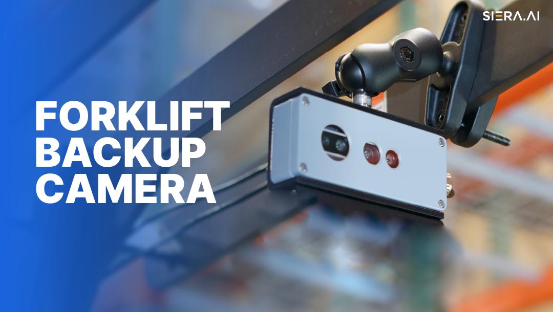 forklift backup camera