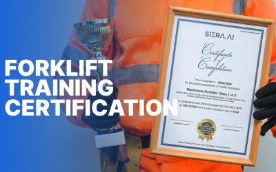 Forklift Training Certification